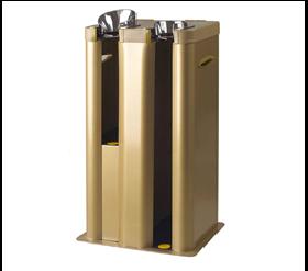Упаковщик зонтов из металла цвета оливы модель OP2-GD